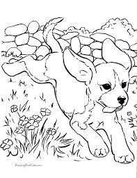 Small Picture Free Printable Puppy Coloring Pages chuckbuttcom