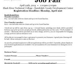 Walk A Thon Form Job Fair Registration Form Inherwake
