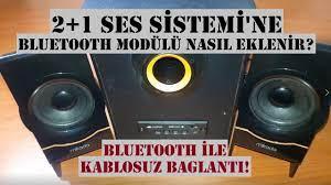 Ses sistemine Bluetooth modülü nasıl eklenir.? Bluetooth modülü ile  kablosuz bağlantı nasıl yapılır? - YouTube
