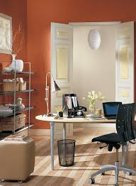 paint colors for office walls. Burnt Orange Home Office Paint Colors For Walls