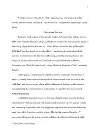 literature review example apa literature review template apa sample photo heavenly runnerswebsite