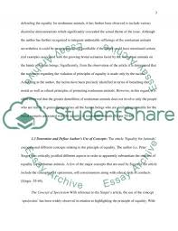 equality for animals essay example topics and well written text