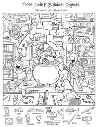 Many free printable puzzles for kids for hours of fun. Find The Hidden Objects Worksheets 99worksheets