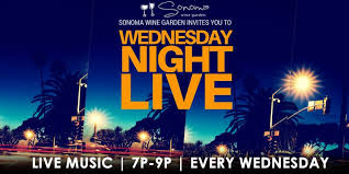 wednesday night live at sonoma wine garden