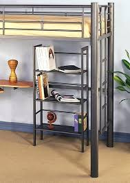 twin metal loft bed with desk twin metal loft bed with desk furniture info awesome metal