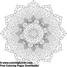 Tribal Mandala Coloring Page 774 Coloring By Miki