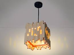 Wood Hanging Lamp Pendant Light Wood Lamp Wooden Lamp Etsy