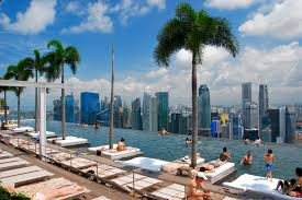 infinity pool singapore hotel. Download Infinity Pool, Marina Bay Hotel, Singapore Editorial Stock Image - Of Palm Pool Hotel