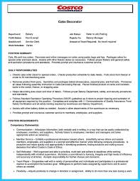 Awesome Flawless Cake Decorator Resume To Guide You To Your Best Job
