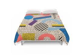 memphis group furniture. Society6 Memphis-Inspired Pattern 3 Duvet Covers Memphis Group Furniture O