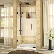 dreamline shdr 242957210 hfr 09 unidoor plus w x h frameless hinged shower