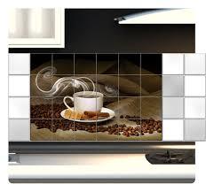 Fliesenaufkleber Fliesenbild Fliesen Aufkleber Küche Kaffee Kachel