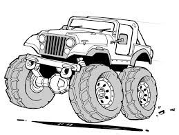 Small Picture Jeep Coloring Pages CAR Coloring pages Cool Cars 27 Free