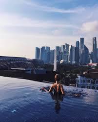 infinity pool singapore night. Naumi Hotel Infinity Pool Singapore Night E
