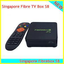 Newest Singapore Fibre box s8 fibrebox S8 for Sinapore starhub cable tv box Set-top  Boxes