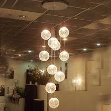 dididd ceiling chandelier duplex house chandelier villa modern simple restaurant light living room creative rotary staircase long chandelier