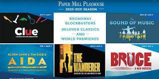VIDEO: Directors Discuss Paper Mill's Upcoming Season, Including CLUE, THE  WANDERER, BRUCE, AIDA, and THE SOUND OF MUSIC