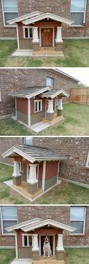 Bingley's craftsman style dog house More