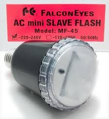 Использование вспышки <b>FalconEyes</b> AC <b>mini</b> SLAVE MF-45 как ...