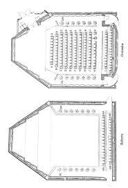 Hatch Recital Hall Seating Chart Eastman Theatre