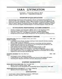 Sample Resumes Examples Simple Resume For Interior Design Interior Design Resume Creative Sample