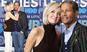 Bryant Gumbel, 70, makes rare display of affection with his pretty wife  Hilary Quinlan, 58 | Daily Mail Online