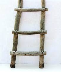 rustic wood ladder small decorative ladders this ladder is made of rustic wood held together with rustic wood ladder