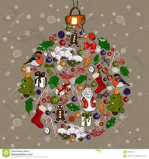 Golf Ball Decorations Christmas Ball Made From Decorations Stock Images Image 100 36