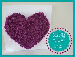Room Decorating With Paper Diy Room Decor Tissue Paper Heart Wall Art Youtube