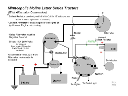 wiring diagram for alternator conversion the wiring diagram minneapolis moline • view topic alternator for model z wiring diagram