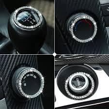 <b>Car</b> One-Touch Starting Ring Decorative Ring <b>Car</b> Key <b>Decoration</b> ...