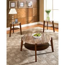 Cute Coffee Table Cute Round Granite Top Coffee Table With Table Leg Base And Wooden