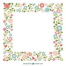 frame design flower. ornamental frames flowers design free vector frame flower e