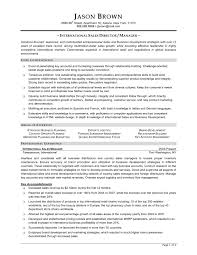 Resume For Sales Manager Sample Resume For Sales Manager Resume For Sales Manager Position 16