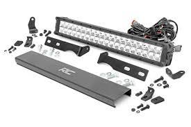 Wk2 Hidden Light Bar Jeep 20in Led Bumper Kit 11 19 Wk2 Grand Cherokee Chrome Series W Amber Drl