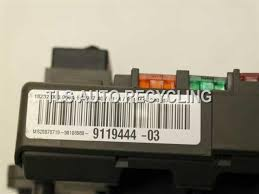 2008 bmw 328i fuse box 61149119445 2008 bmw 328i fuse box 9119444 61149119445 junction block front