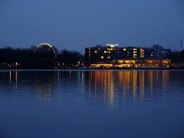 Beleuchtung, Blau, Hannover. Fotograf