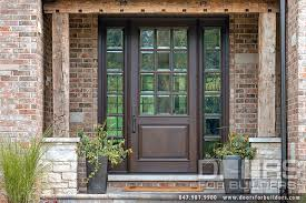 custom solid mahogany wood door with two sidelites clear beveled front door with leaded glass