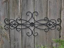 iron wall art. Nice Outdoor Wrought Iron Wall Decor Landscaping Backyards Ideas With Art Inspirations 13