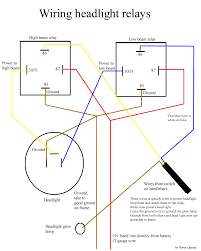 light relay wiring diagram stop light wiring diagram \u2022 free wiring how to wire headlights from scratch at Headlight Circuit Diagram
