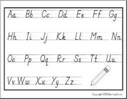 Handwriting Worksheet Manuscript Upper And Lower Case
