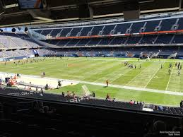 One Direction Soldier Field Seating Chart Soldier Field Section 232 Chicago Bears Rateyourseats Com