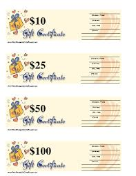 Personalized Gift Certificates Template Free Impressive A Blank Gift Certificate With Hearts Packages And Room To Write In