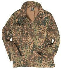 german wwii m44 pea camo field jacket repro