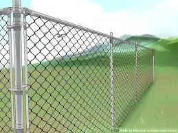 chain link fence slats lowes. How Much Is Chain Link Fence Image Titled Remove A Step 5  Slats Lowes