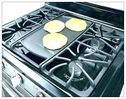 gas stove top with griddle. Gas Stove Griddle With Profile Front View Monogram Throughout Top Plan L