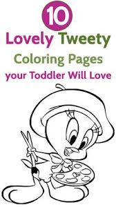 Small Picture printable coloring sheets Free Printable Tweety Bird Coloring