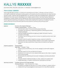 Business Development Manager Objectives Resume Objective Livecareer