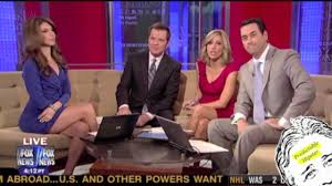 Fox news girls upskirt oops