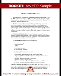confidentiality agreement template non disclosure agreement nda form create a free nda form